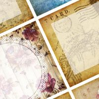 Freebie - Vintage style memo papers